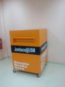 book donation box